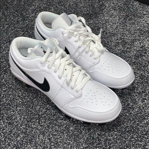 New Nike Air Jordan 1 Retro Low Cleats